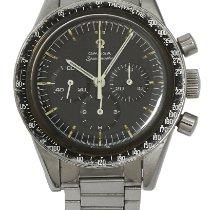 Omega Speedmaster Steel 39.7mm Black No numerals United Kingdom, London