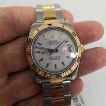 Rolex Datejust Turn-O-Graph nuovo Automatico Orologio con scatola e documenti originali 116263