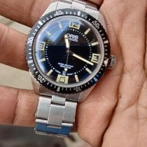 Oris Divers Sixty Five Steel 40mm Black Arabic numerals United States of America, Texas, Eagle Pass
