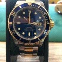 Rolex Submariner Date Or/Acier 40mm Bleu Sans chiffres France, nice