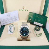 Rolex Milgauss Acier 40mm Bleu Sans chiffres