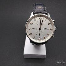 IWC IW371401 Acero Portuguese Chronograph 41mm usados