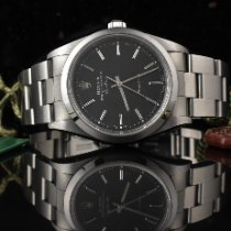 Rolex Air King Precision Otel 34mm Negru