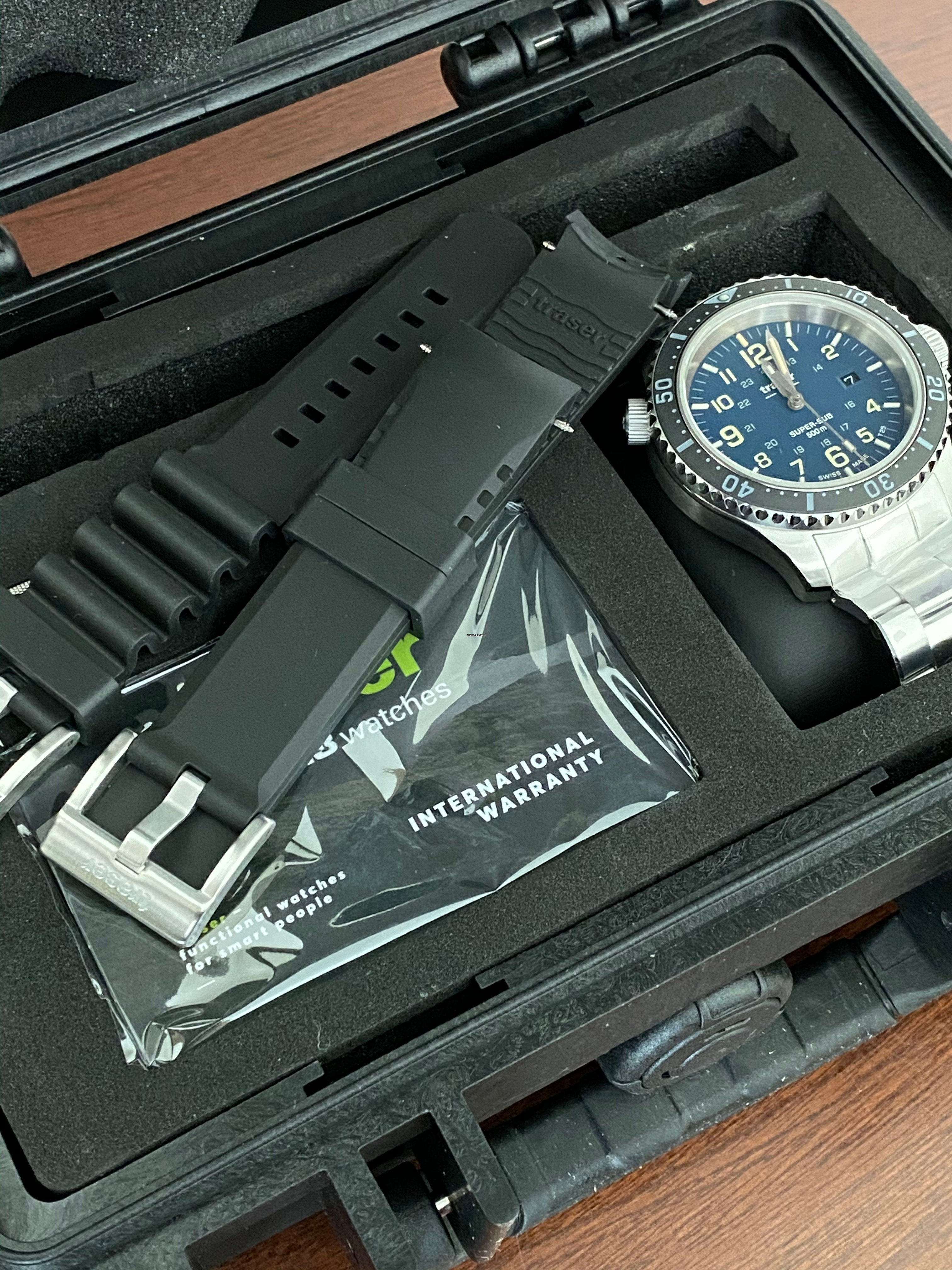 Traser P67 SuperSub Blue Special Set for Rp. 13,173,846 for sale from a  Trusted Seller on Chrono24