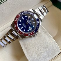 Rolex GMT-Master II White gold 40mm Blue No numerals United States of America, California, Sunnyvale