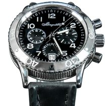 Breguet Type XX - XXI - XXII 3820 Very good Steel 39.5mm Automatic