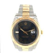 Rolex Datejust II 116333 Odlično Zlato/Zeljezo 41mm Automatika