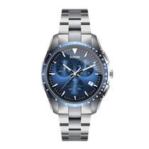 Rado HyperChrome Chronograph Steel 44.9mm Blue