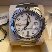 Rolex Explorer II Steel 40mm White No numerals United States of America, New York, new york city