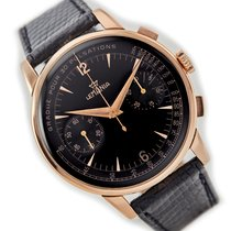 Lemania Rose gold Manual winding Black Roman numerals 40mm pre-owned