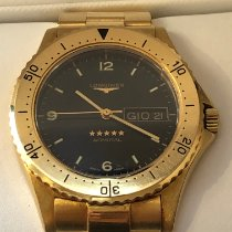 Longines Geelgoud 38mm Automatisch L3.600. tweedehands