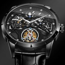 GIV 7018 mechanical Watch Tourbillon movement 全新 钢 42mm 手动上弦 中国, 桂林