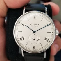NOMOS pre-owned Automatic 40mm Silver Sapphire crystal 3 ATM