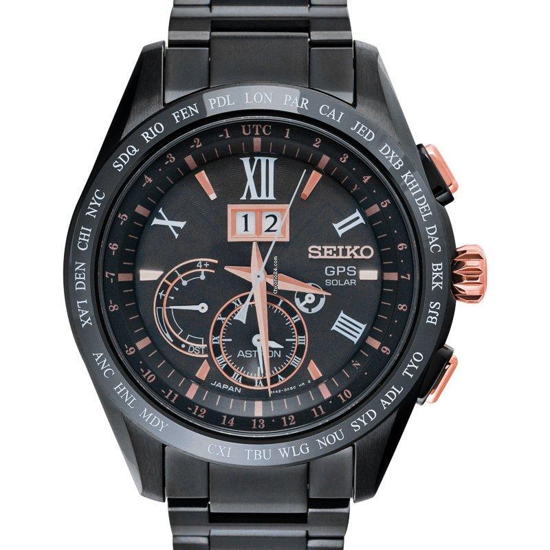 Seiko Astron GPS Solar SBXB141 новые