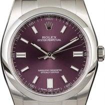 Rolex Oyster Perpetual 36 Steel 36mm Purple Arabic numerals United States of America, California, Walnut Creek