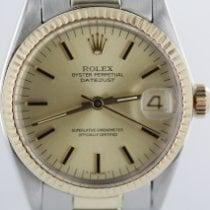 Rolex Datejust Gold/Stahl 31mm Champagnerfarben Keine Ziffern Deutschland, Eisenach