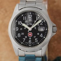 Swiss Military pre-owned Quartz 30mm Sapphire crystal