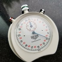 Heuer Plastic Manual winding White 66mm pre-owned