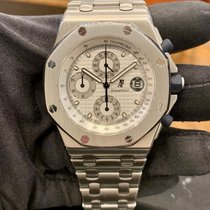 Audemars Piguet Royal Oak Offshore Chronograph Acciaio 42mm Argento Arabi Italia, Milano