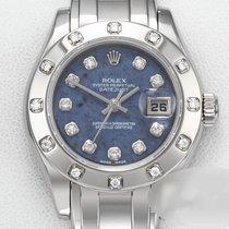 Rolex Lady-Datejust Pearlmaster Weißgold 29mm Blau Keine Ziffern Deutschland, München