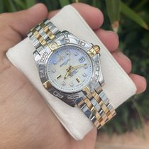 Breitling Cockpit Lady Gold/Steel 32mm Mother of pearl No numerals