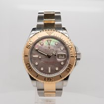 Rolex Yacht-Master 40 Gold/Steel 40mm Mother of pearl No numerals United Kingdom, London