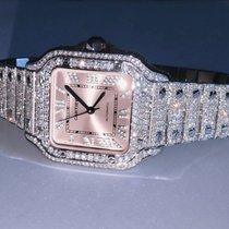Cartier Santos (submodel) Steel 35mm Silver Roman numerals