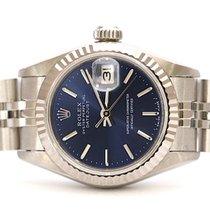 Rolex Lady-Datejust Acero 26mm Azul Sin cifras
