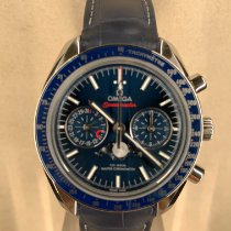 Omega Speedmaster Professional Moonwatch Moonphase Acier Bleu Sans chiffres France, Paris