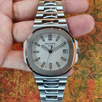 Patek Philippe Nautilus Acero 40mm Blanco Sin cifras