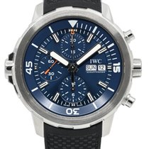 IWC Aquatimer Chronograph Acier 44mm Bleu Sans chiffres France, Lyon
