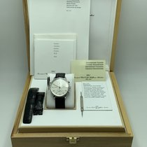 IWC Portuguese Chronograph Сталь 41mm Белый Aрабские
