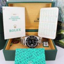 Rolex Submariner Date Acier 40mm Noir