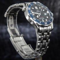 Omega Seamaster Diver 300 M Steel 40mm Blue No numerals