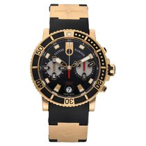 Ulysse Nardin Maxi Marine Diver Yellow gold 42.7mm Black No numerals United States of America, Florida, Sarasota