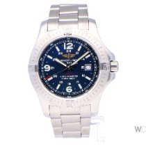 Breitling Colt Quartz Steel 44mm Black Arabic numerals