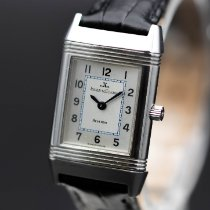 Jaeger-LeCoultre Reverso Lady pre-owned 20mm White Leather