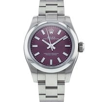 Rolex Oyster Perpetual 26 pre-owned 26mm Purple Steel