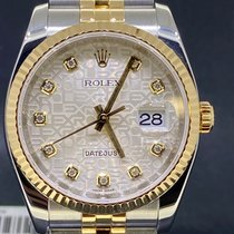 Rolex 116233 Or/Acier 2008 Datejust 36mm occasion