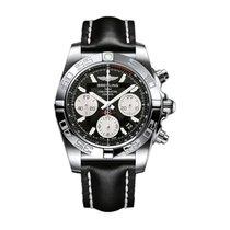 Breitling Chronomat 41 nuevo 2014 Cuerda manual Cronógrafo Reloj con estuche y documentos originales AB014012.BA52.428X.A18BA.1