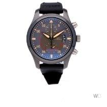IWC Fliegeruhr Chronograph Top Gun Miramar Keramik 46mm Grau Arabisch
