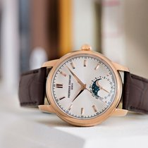 Frederique Constant Manufacture Classic Moonphase Gold/Steel 40.5mm Silver
