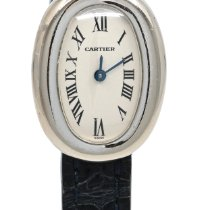 Cartier 2369 White gold 1995 Baignoire 25mm pre-owned