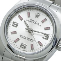 Rolex Oyster Perpetual 26 Staal 26mm Zilver