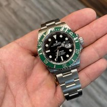 Rolex Submariner Date Steel 41mm Black No numerals United States of America, New York, New York