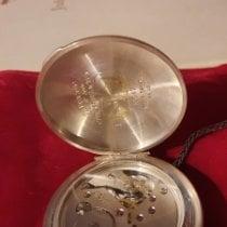 M&M Swiss Watch Silber Handaufzug 0478 gebraucht