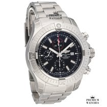 Breitling Super Avenger new Automatic Chronograph Watch with original box and original papers A13375101B1A1