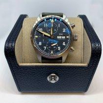 IWC Pilot Spitfire Chronograph Steel 41mm Black Arabic numerals United States of America, Pennsylvania, Douglassville