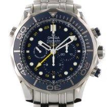 Omega Seamaster Diver 300 M Acier 44mm Bleu Sans chiffres