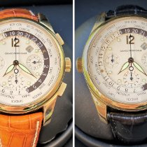 Girard Perregaux WW.TC Yellow gold 43mm White Arabic numerals United States of America, South Carolina, GREENVILLE